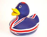 Union Jack rubber duck