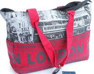 London bus shoulder bag