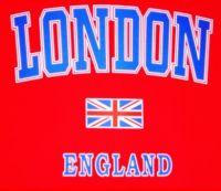 London/union jack t-shirt